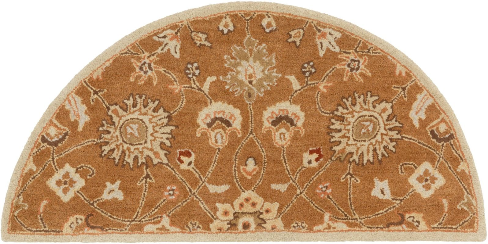 Surya CAE-1120 Caesar Hand Tufted Wool Rug Brown 2 x 4 Hearth Home