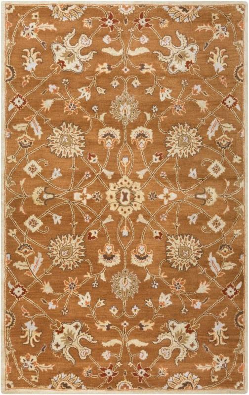 Surya CAE-1120 Caesar Hand Tufted Wool Rug Brown 4 x 6 Home Decor Rugs Sale $271.80 ITEM: bci2670309 ID#:CAE1120-46 UPC: 764262936131 :