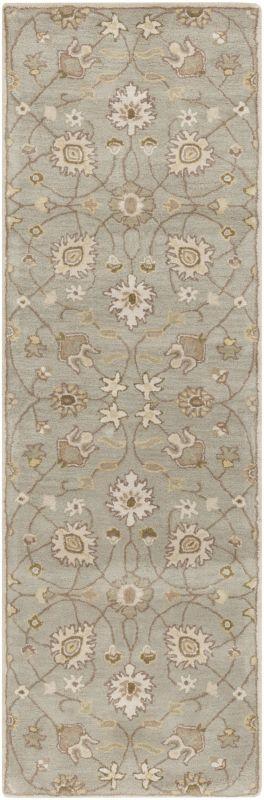 Surya CAE-1121 Caesar Hand Tufted Wool Rug Off-White 2 1/2 x 8 Home Sale $226.80 ITEM: bci2670329 ID#:CAE1121-268 UPC: 764262936674 :
