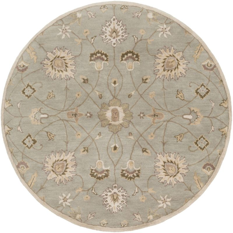 Surya CAE-1121 Caesar Hand Tufted Wool Rug Off-White 4 Round Home Sale $182.40 ITEM: bci2670332 ID#:CAE1121-4RD UPC: 764262936803 :