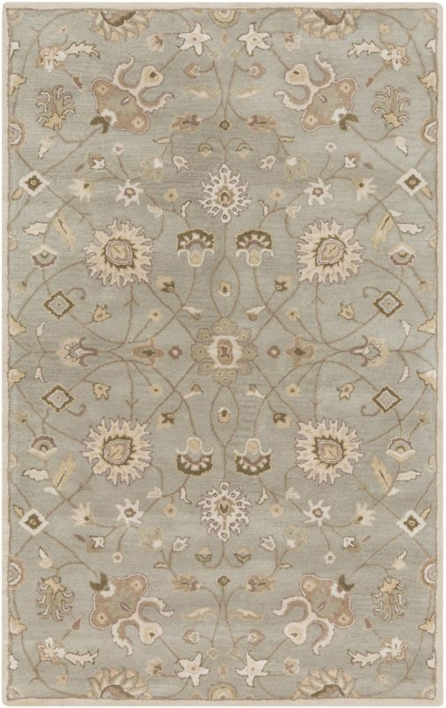 Surya CAE-1121 Caesar Hand Tufted Wool Rug Off-White 5 x 8 Home Decor Sale $369.60 ITEM: bci2669683 ID#:CAE1121-58 UPC: 764262936704 :