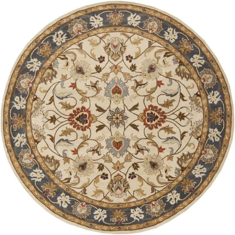 Surya CAE-1125 Caesar Hand Tufted Wool Rug Gold 10 Round Home Decor Sale $1073.40 ITEM: bci2669766 ID#:CAE1125-99RD UPC: 764262938692 :
