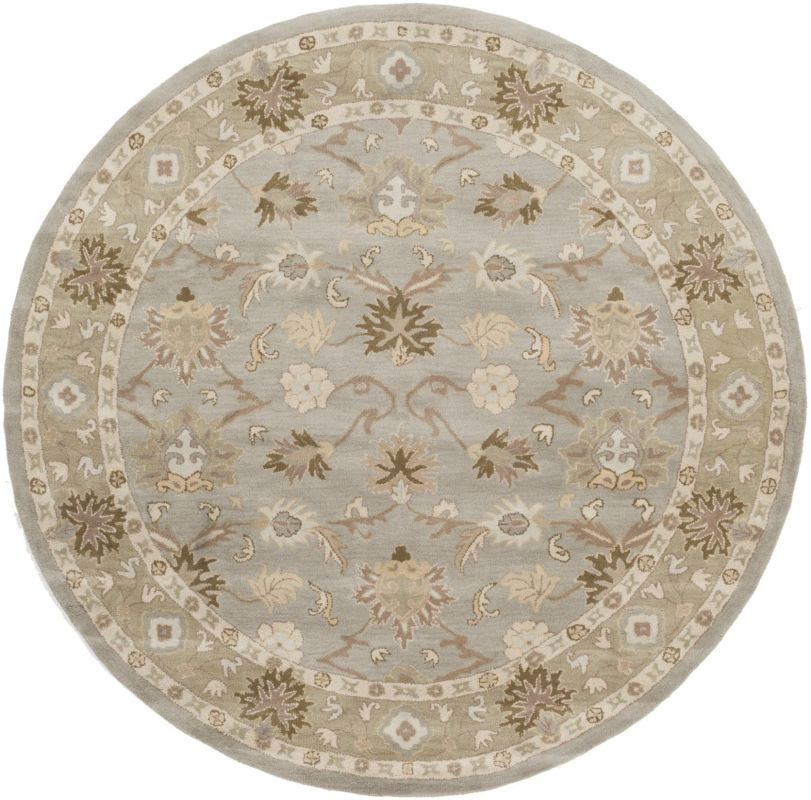 Surya CAE-1126 Caesar Hand Tufted Wool Rug Gray 10 Round Home Decor Sale $1073.40 ITEM: bci2669788 ID#:CAE1126-99RD UPC: 764262938975 :