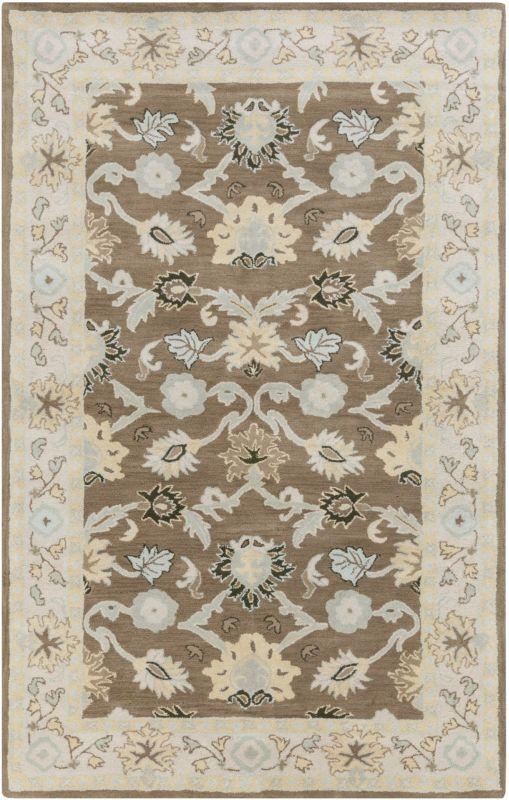 Surya CAE-1127 Caesar Hand Tufted Wool Rug Green 3 x 12 Home Decor Sale $408.60 ITEM: bci2669795 ID#:CAE1127-312 UPC: 764262939057 :