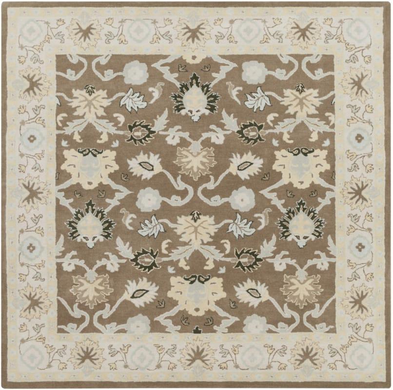 Surya CAE-1127 Caesar Hand Tufted Wool Rug Green 4 Square Home Decor