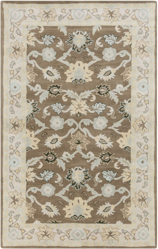Surya CAE-1127 Caesar Hand Tufted Wool Rug Green 6 x 9 Home Decor Rugs Sale $555.60 ITEM: bci2669800 ID#:CAE1127-69 UPC: 764262939095 :