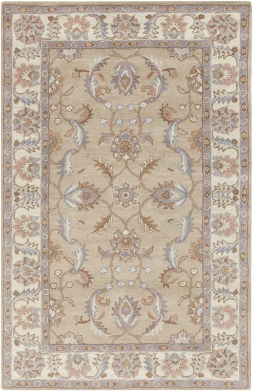 Surya CAE-1129 Caesar Hand Tufted Wool Rug Green 5 x 8 Home Decor Rugs Sale $369.60 ITEM: bci2670640 ID#:CAE1129-58 UPC: 764262944396 :