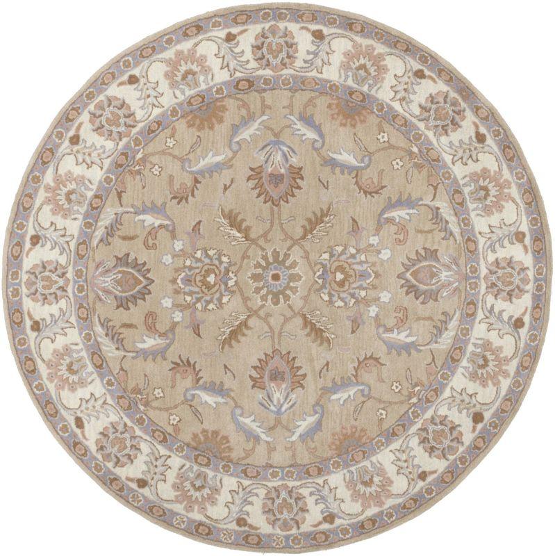 Surya CAE-1129 Caesar Hand Tufted Wool Rug Green 6 Round Home Decor Sale $408.60 ITEM: bci2670643 ID#:CAE1129-6RD UPC: 764262944402 :