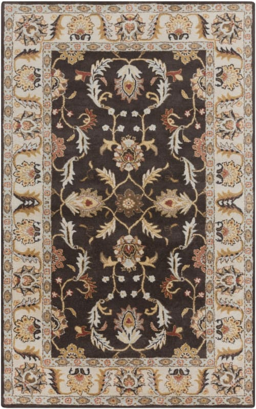 Surya CAE-1130 Caesar Hand Tufted Wool Rug Brown 12 x 15 Home Decor Sale $2034.60 ITEM: bci2670654 ID#:CAE1130-1215 UPC: 764262946253 :