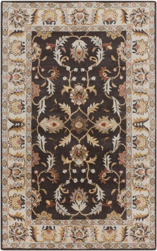 Surya CAE-1130 Caesar Hand Tufted Wool Rug Brown 2 x 3 Home Decor Rugs Sale $77.40 ITEM: bci2670655 ID#:CAE1130-23 UPC: 764262945669 :
