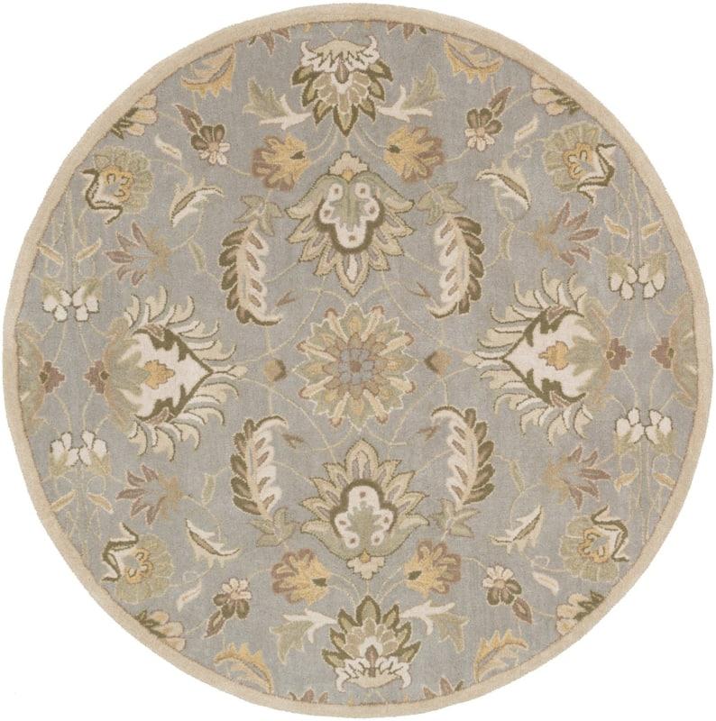 Surya CAE-1140 Caesar Hand Tufted Wool Rug Green 4 Round Home Decor Sale $182.40 ITEM: bci2670704 ID#:CAE1140-4RD UPC: 764262606744 :