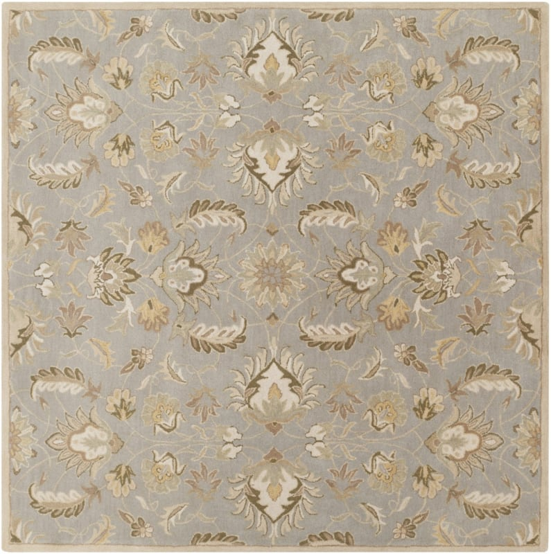 Surya CAE-1140 Caesar Hand Tufted Wool Rug Green 4 Square Home Decor