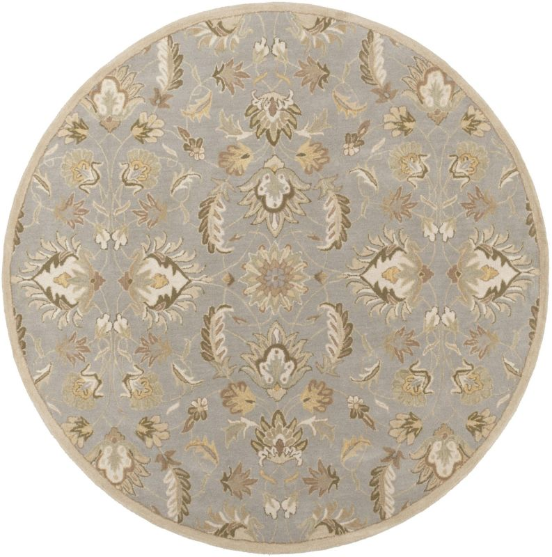 Surya CAE-1140 Caesar Hand Tufted Wool Rug Green 10 Round Home Decor Sale $1073.40 ITEM: bci2670717 ID#:CAE1140-99RD UPC: 764262606768 :