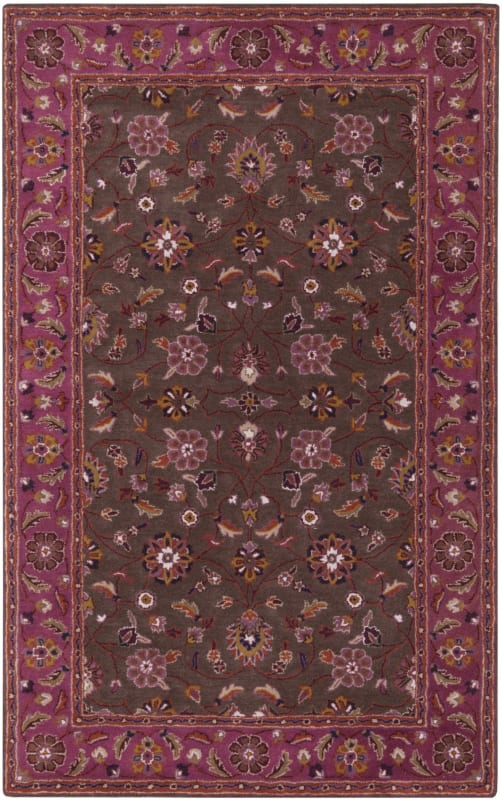 Surya CAE-1141 Caesar Hand Tufted Wool Rug Purple 10 x 14 Home Decor Sale $1583.40 ITEM: bci2670719 ID#:CAE1141-1014 UPC: 764262832518 :