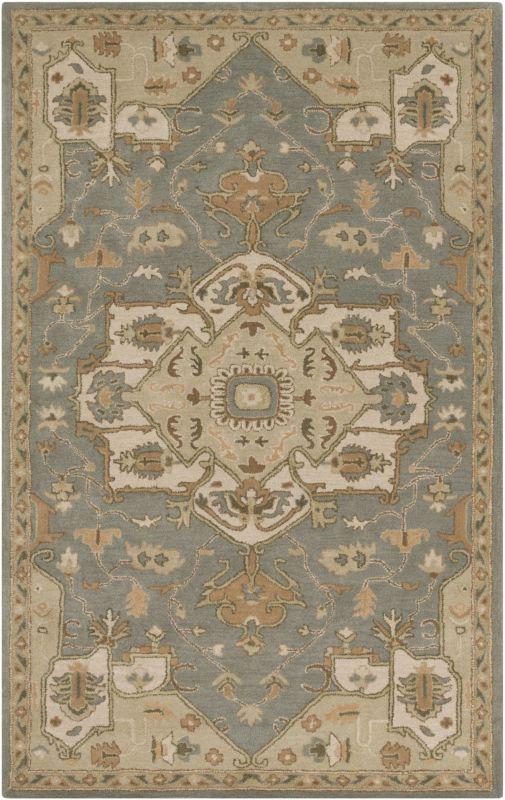 Surya CAE-1144 Caesar Hand Tufted Wool Rug Green 2 x 3 Home Decor Rugs Sale $77.40 ITEM: bci2670765 ID#:CAE1144-23 UPC: 888473065388 :