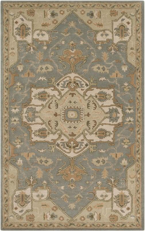 Surya CAE-1144 Caesar Hand Tufted Wool Rug Green 7 1/2 x 9 1/2 Home Sale $659.40 ITEM: bci2670336 ID#:CAE1144-7696 UPC: 888473065302 :