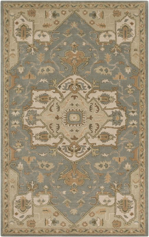 Surya CAE-1144 Caesar Hand Tufted Wool Rug Green 9 x 12 Home Decor Sale $1222.80 ITEM: bci2670341 ID#:CAE1144-912 UPC: 888473065340 :