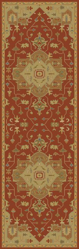 Surya CAE-1147 Caesar Hand Tufted Wool Rug Red 2 1/2 x 8 Home Decor Sale $226.80 ITEM: bci2670392 ID#:CAE1147-268 UPC: 888473065906 :