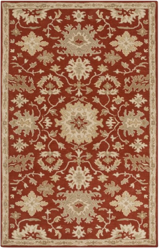 Surya CAE-1148 Caesar Hand Tufted Wool Rug Red 10 x 14 Home Decor Rugs Sale $1583.40 ITEM: bci2670410 ID#:CAE1148-1014 UPC: 888473066231 :