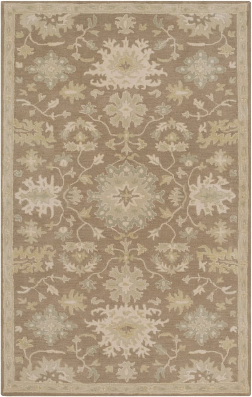 Surya CAE-1149 Caesar Hand Tufted Wool Rug Brown 4 x 6 Home Decor Rugs Sale $271.80 ITEM: bci2670438 ID#:CAE1149-46 UPC: 888473066361 :