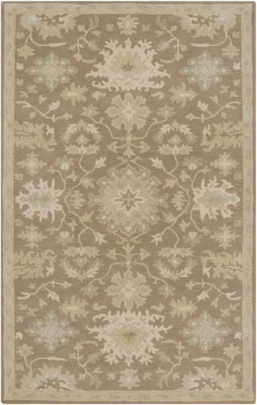 Surya CAE-1149 Caesar Hand Tufted Wool Rug Brown 5 x 8 Home Decor Rugs Sale $369.60 ITEM: bci2670441 ID#:CAE1149-58 UPC: 888473066378 :
