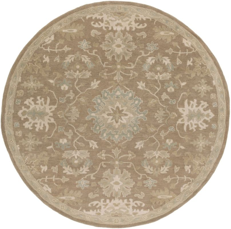 Surya CAE-1149 Caesar Hand Tufted Wool Rug Brown 10 Round Home Decor Sale $1073.40 ITEM: bci2670452 ID#:CAE1149-99RD UPC: 888473066491 :