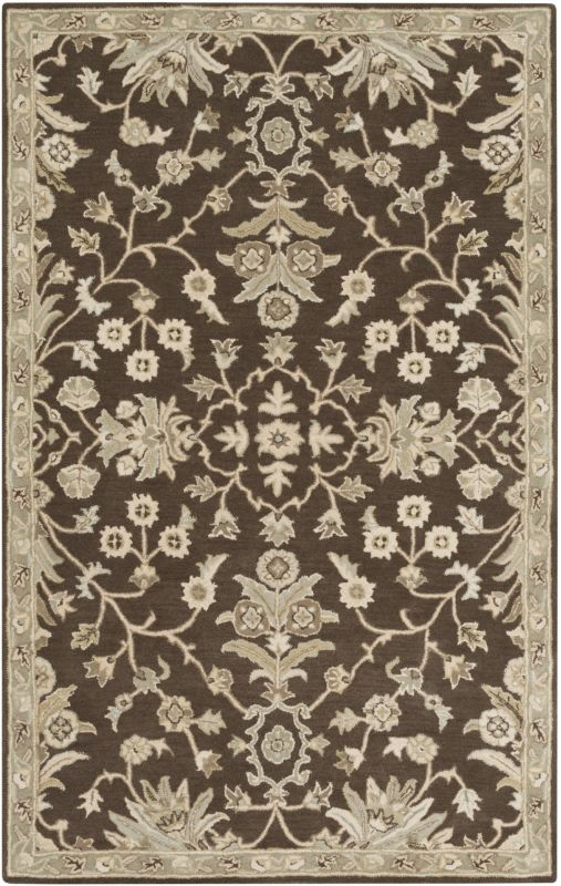 Surya CAE-1150 Caesar Hand Tufted Wool Rug Brown 10 x 14 Home Decor Sale $1583.40 ITEM: bci2670454 ID#:CAE1150-1014 UPC: 888473066675 :