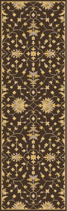 Surya CAE-1151 Caesar Hand Tufted Wool Rug Brown 2 1/2 x 8 Home Decor Sale $226.80 ITEM: bci2670480 ID#:CAE1151-268 UPC: 888473066781 :