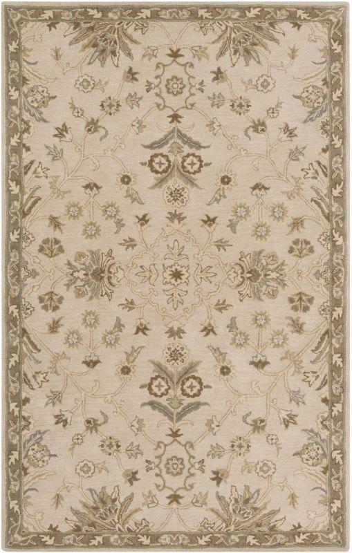 Surya CAE-1152 Caesar Hand Tufted Wool Rug Off-White 3 x 12 Home Decor Sale $408.60 ITEM: bci2669853 ID#:CAE1152-312 UPC: 888473067016 :