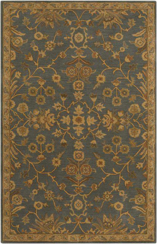 Surya CAE-1153 Caesar Hand Tufted Wool Rug Green 10 x 14 Home Decor