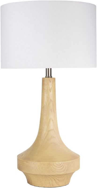 Surya CALP Carson 1 Light Table Lamp Light Brown Lamps Accent Lamps
