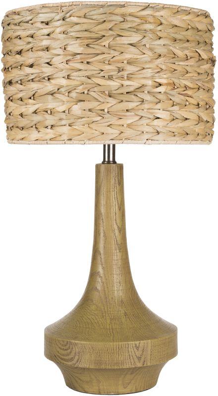 Surya CALP Carson 1 Light Table Lamp Medium Brown Lamps Accent Lamps