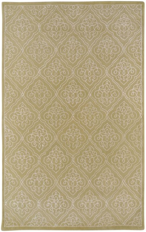 Surya CAN-1914 Modern Classics Hand Tufted New Zealand Wool Rug Green