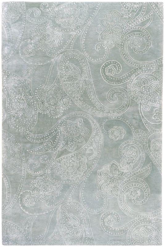 Surya CAN-1952 Modern Classics Hand Tufted New Zealand Wool Rug Green