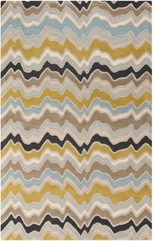 Surya CAN-2029 Modern Classics Hand Tufted New Zealand Wool Rug Green