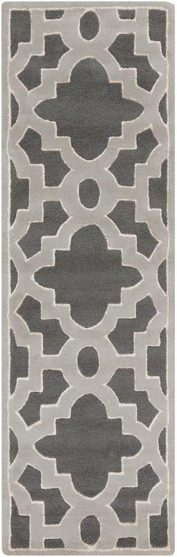 Surya CAN-2040 Modern Classics Hand Tufted New Zealand Wool Rug Green