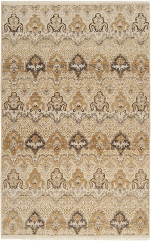 Surya CMB-8000 Cambridge Hand Knotted New Zealand Wool Rug Off-White 9