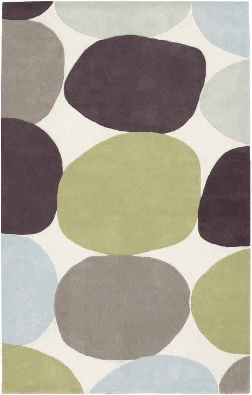 Surya COS-8809 Cosmopolitan Hand Tufted Polyester Rug Green 5 x 8 Home