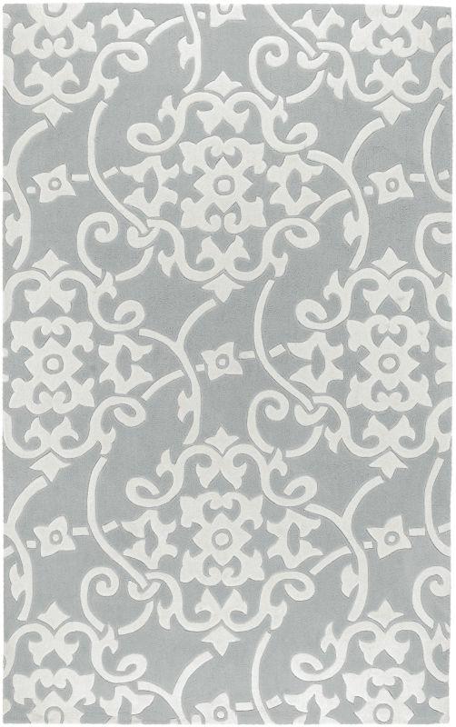 Surya COS-8828 Cosmopolitan Hand Tufted Polyester Rug Green 5 x 8 Home