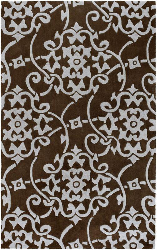 Surya COS-8829 Cosmopolitan Hand Tufted Polyester Rug Gray 3 1/2 x 5