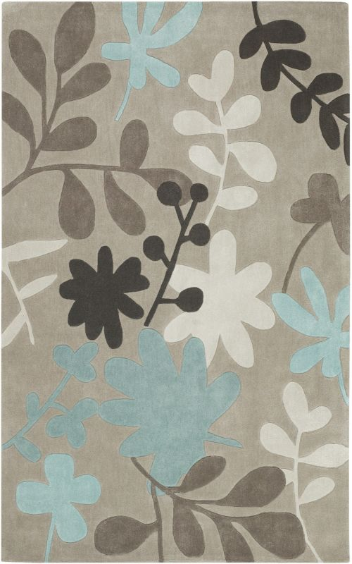 Surya COS-8924 Cosmopolitan Hand Tufted Polyester Rug Brown 2 x 3 Home