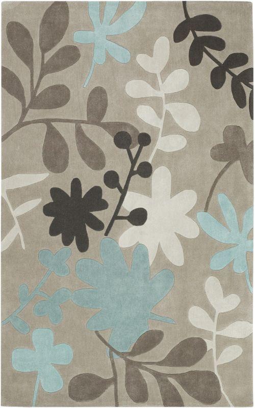 Surya COS-8924 Cosmopolitan Hand Tufted Polyester Rug Brown 3 1/2 x 5