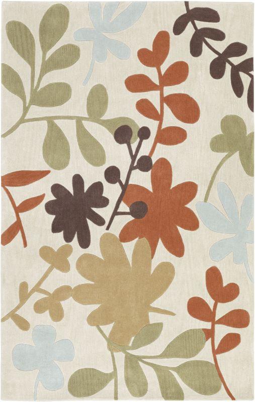 Surya COS-8926 Cosmopolitan Hand Tufted Polyester Rug Gray 2 x 3 Home