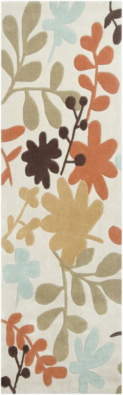 Surya COS-8926 Cosmopolitan Hand Tufted Polyester Rug Gray 2 1/2 x 8