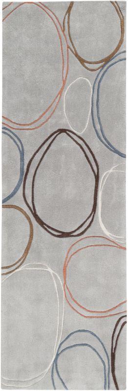 Surya COS-8992 Cosmopolitan Hand Tufted Polyester Rug Gray 2 1/2 x 8