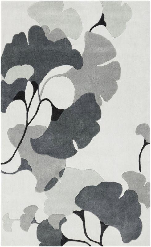 Surya COS-9172 Cosmopolitan Hand Tufted Polyester Rug Gray 2 x 3 Home