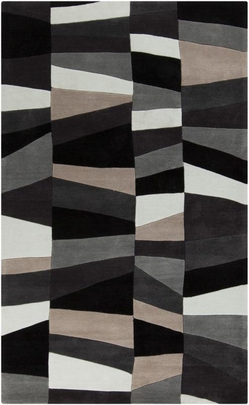 Surya COS-9188 Cosmopolitan Hand Tufted Polyester Rug Gray 8 x 11 Home
