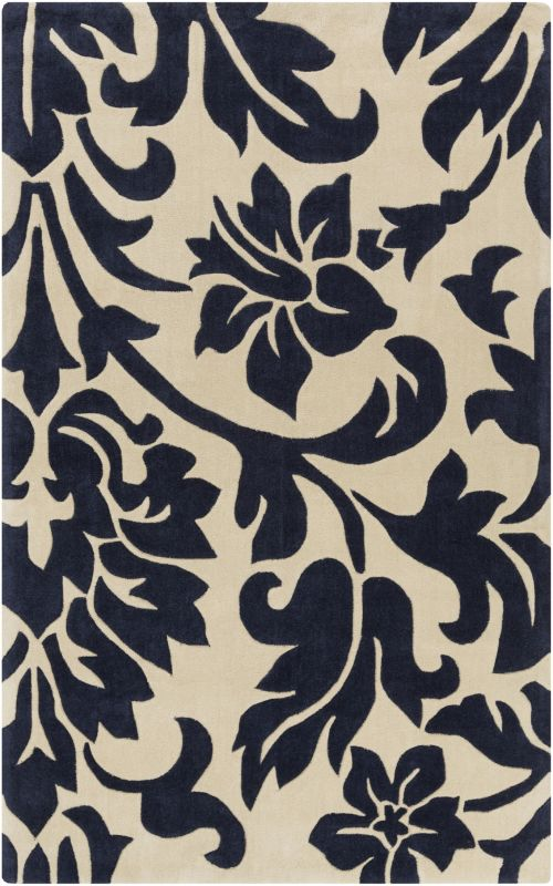 Surya COS-9194 Cosmopolitan Hand Tufted Polyester Rug Blue 8 x 11 Home