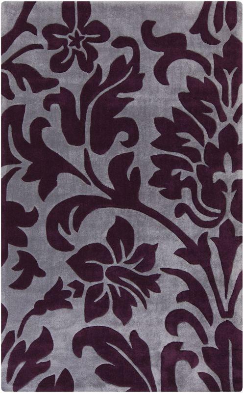Surya COS-9195 Cosmopolitan Hand Tufted Polyester Rug Purple 9 x 13