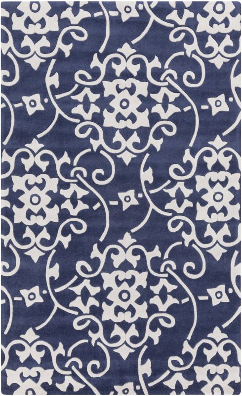 Surya COS-9201 Cosmopolitan Hand Tufted Polyester Rug Blue 8 x 11 Home
